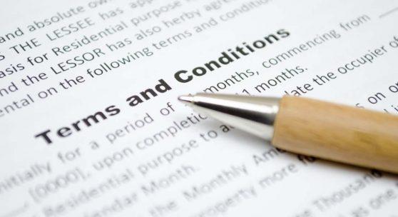 termeni și condiții